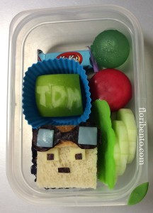 DanTDM small bento closeup