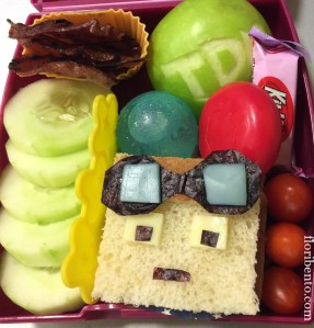 DanTDM large bento closeup