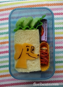 Hundley small sandwich bento