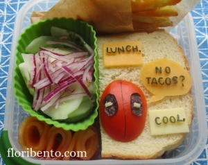 Deadpool sandwich bento (2)