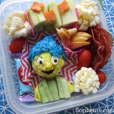 """Inside Out"" Joy bento"