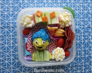 """Inside Out"" Joy bento (2)"