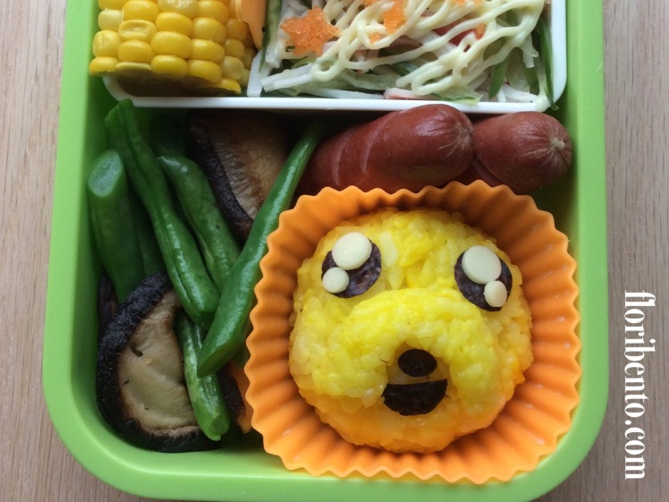Jake the Dog Adventure Time Bento Closeup