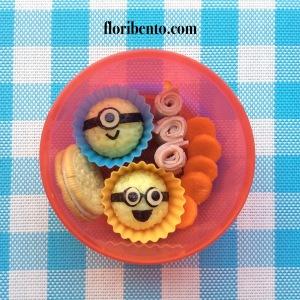 Mini Minions snack bento